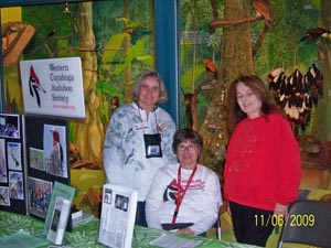 Penny, Joanne and Barb at CMNH