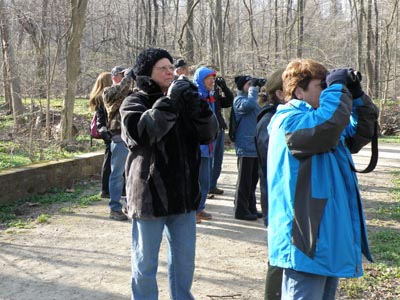Birders at South Mastick