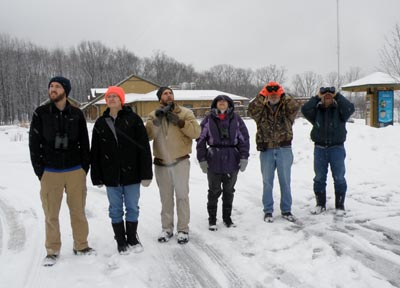 West Creek winter birders